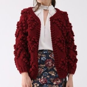 Chicwish Knit Your Love Cardigan. NWT